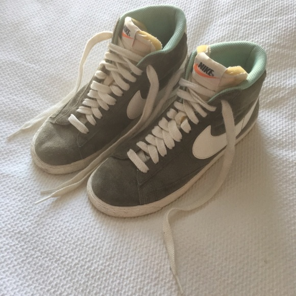 Nike for J. Crew suede high tops